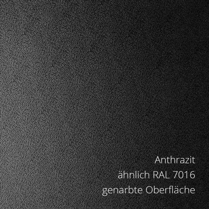 Anthrazit RAL 7016 PS-Material von mentec®