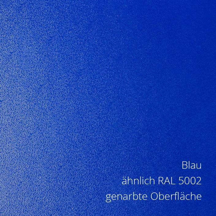 Blau RAL 5002 PS-Material von mentec®