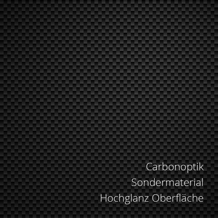 Carbonoptik PS-Material von mentec®