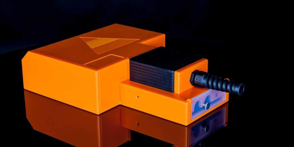 Kunststoffgehäuse orange stabil von mentec®