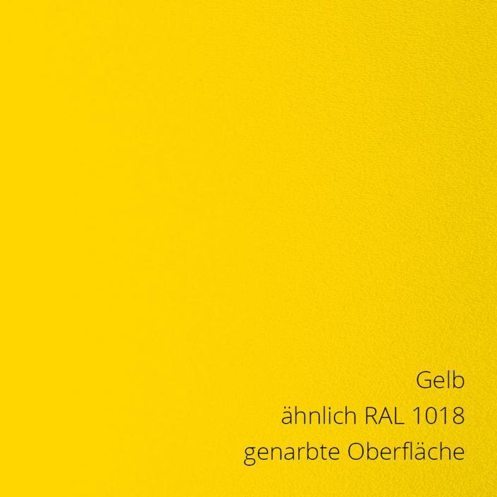Gelb RAL 1018 PS-Material von mentec®