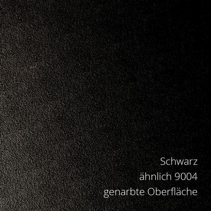 Schwarz RAL 9004 PS-Material von mentec®