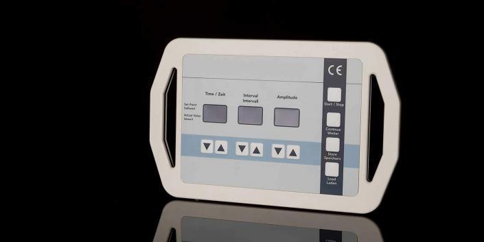 Hand-Steuerungsgehäuse mit Folientastatur von mentec®