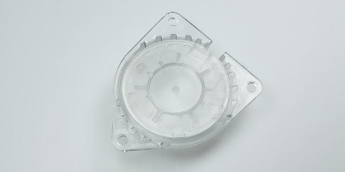Spritzguss-Düse transparent von mentec®