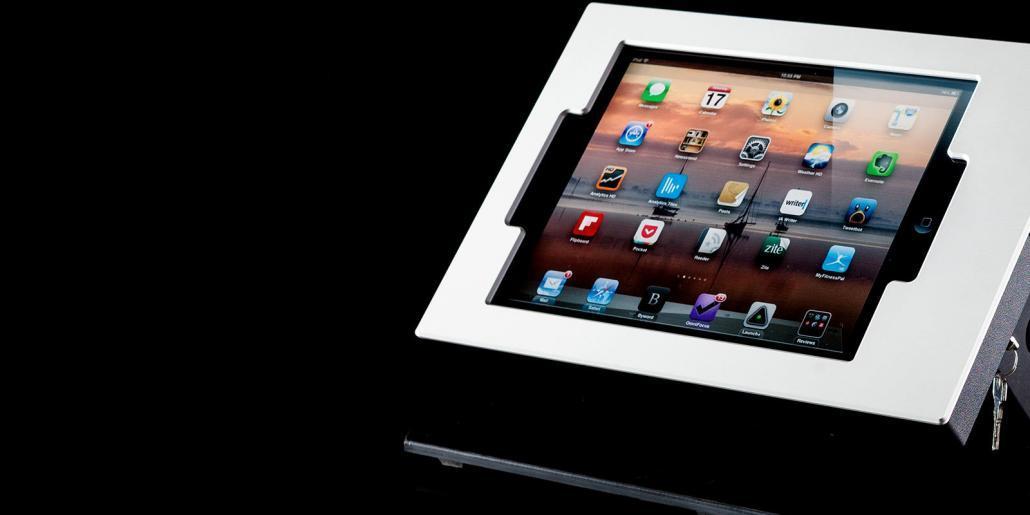 Tablet-Gehäuse mit Aluminiumfront von mentec®