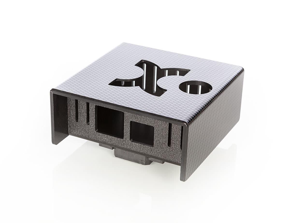 Kunststsoff-Gehäuse mit Carbonoptik von mentec®