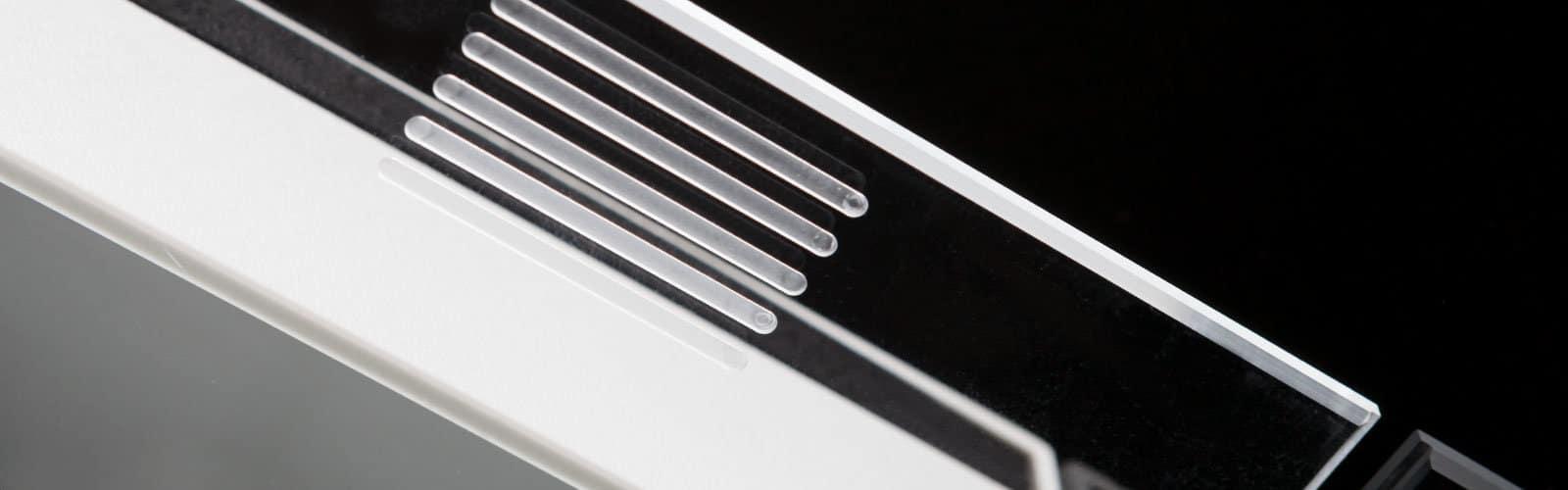 Acrylglas-Detail von mentec®
