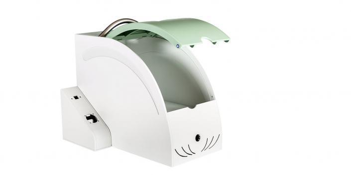 Kunststoff-Transportgehäuse offen von mentec®