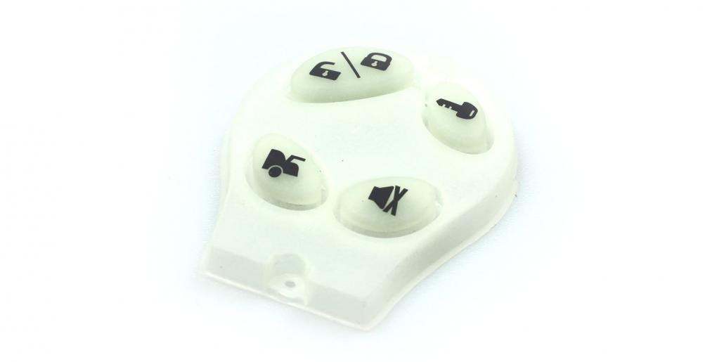 Silikonschaltmatte transparent von mentec®