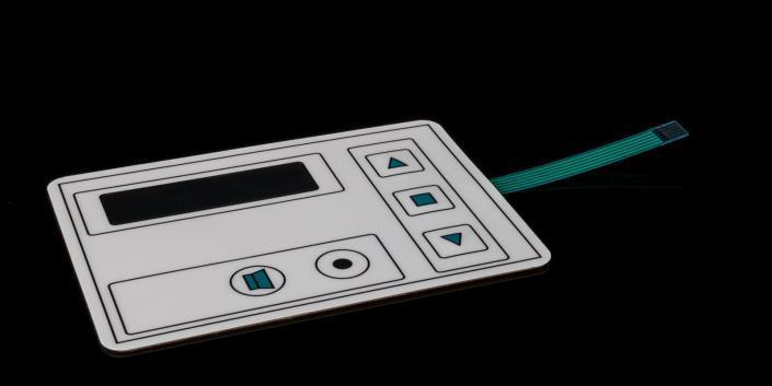 Medical-Folientastatur von mentec®