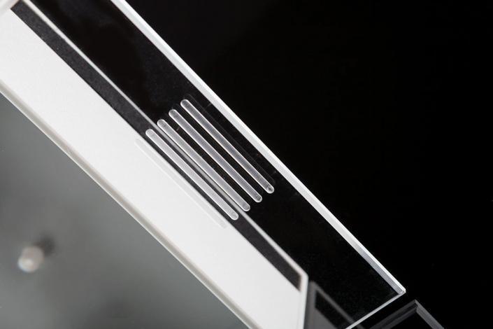 Gehäusedetail Schiebefräsung von mentec®