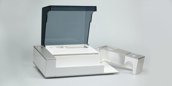 Acryl-Abdeckhaube für ein Kunststoffgehäuse von mentec®