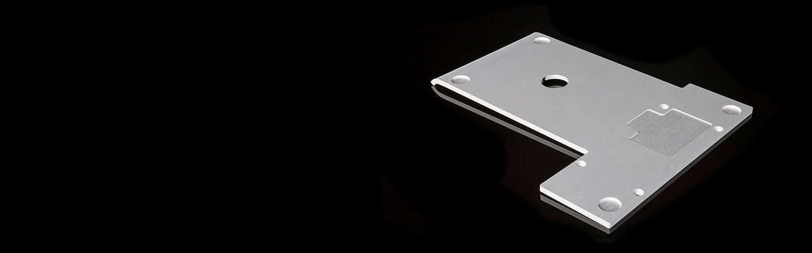 Aluminium Frästeil von mentec®