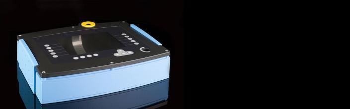 Kunststoffgehäuse blau mit Folientastatur von mentec®