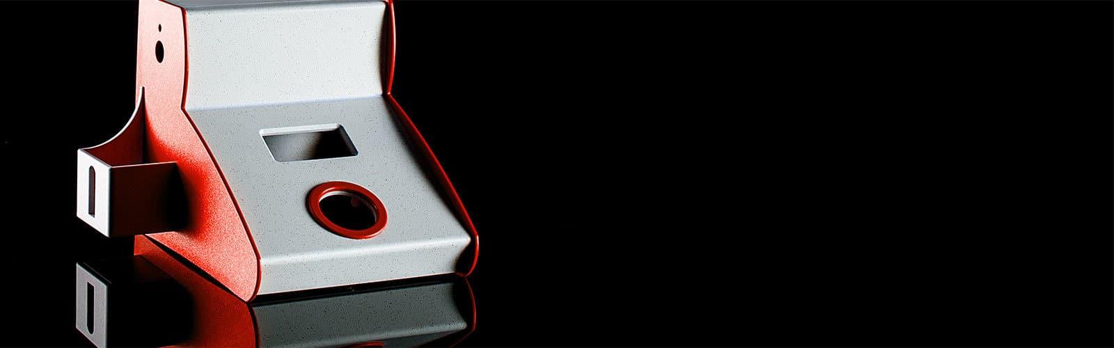 Kunststoffgehäuse als Tischgehäuse von mentec®