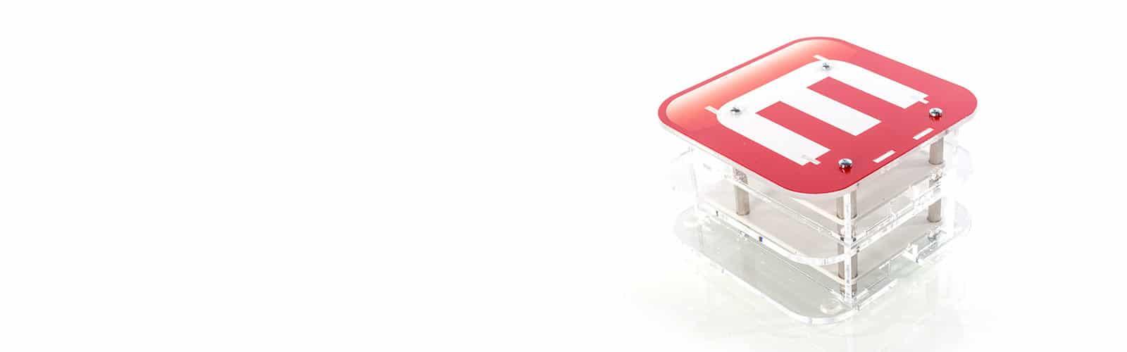 Raspberry Pie Gehäuse: schickes Kunststoffgehäuse aus Acrylglas