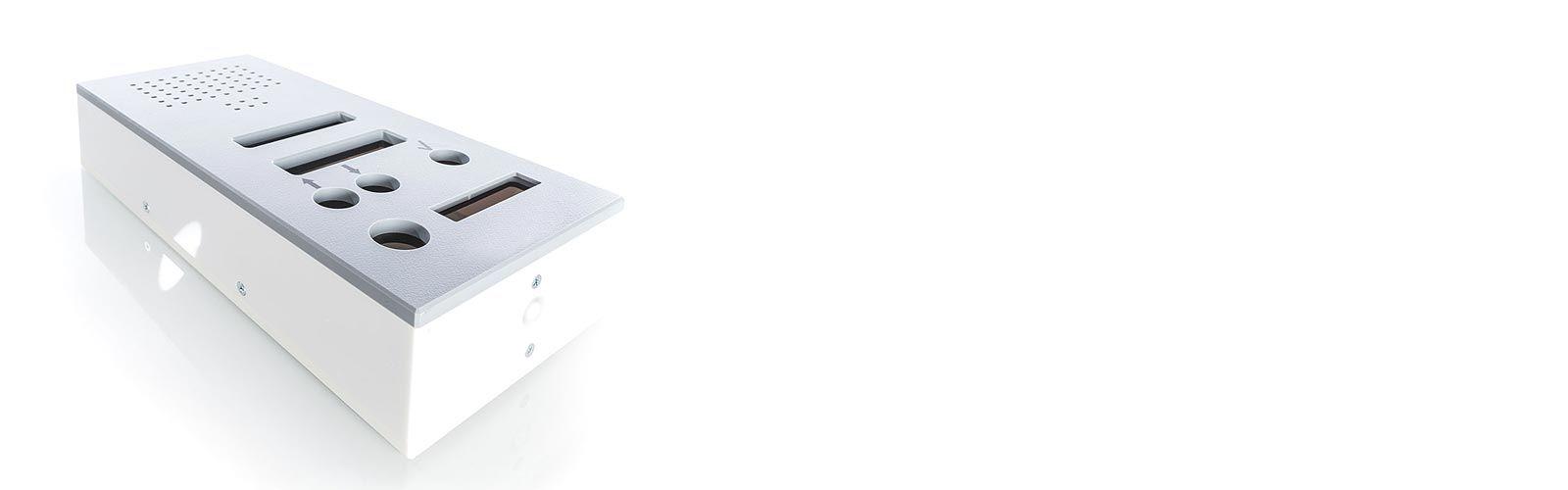 Mentec Kunststoffgehäuse für Sprechanlagen / Gegensprechanlagen