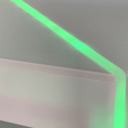 Medizintechnik Gehäuse mit LED Beleuchtung