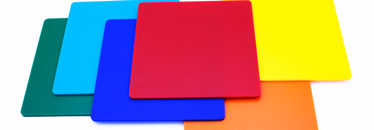 mentec Werkstoffkunde: verfügbar Farben Polystrol