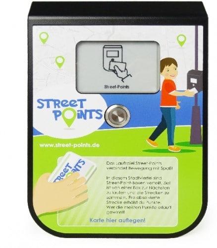Street Points das Laufspiel Kunststoffgehäuse / Individual plastic housing